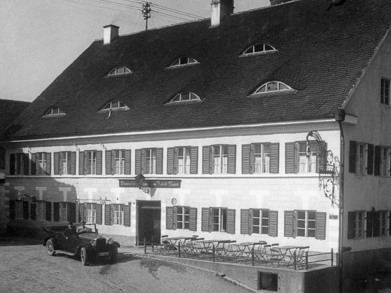 Brauereigasthof Maierbräu Altomünster - Aussenansicht historisch